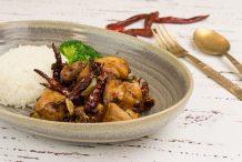 Sichuan Chongqing Chicken (Sichuan ChongqingLa Zi Ji)