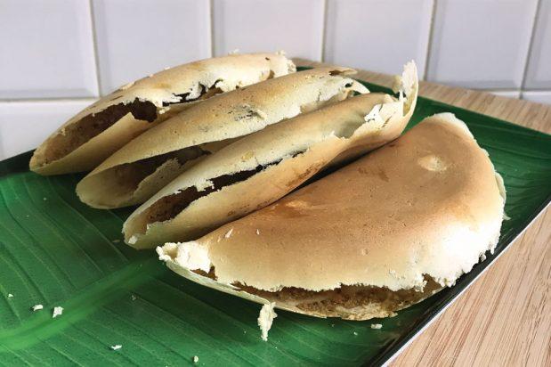Crispy Peanut Pancake (Apam Balik Tipis)