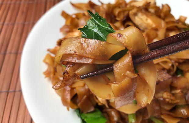 Thai Stir-fried Noodles (Pad See Euw)