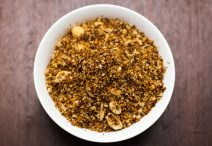 Spicy FriedCoconut Flakes with Peanuts (Serundeng)