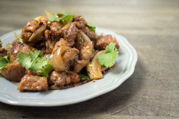 Vietnamese Lemongrass Chilli Chicken (Ga Xao Ca Ot)