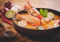 Thai Hot and Sour Prawn Soup (Tom Yum Goong)