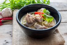 Thai Coconut Chicken Soup (Tom Kha Kai)