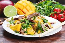 Thai Lamb and Mango Salad
