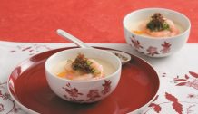 Steamed Egg with XO Sauce