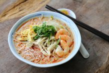 easy straits laksa recipe by Asian Inspirations