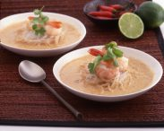 Seafood Coconut Red Curry