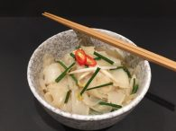 Rice Stick Noodles with Chinese Chives