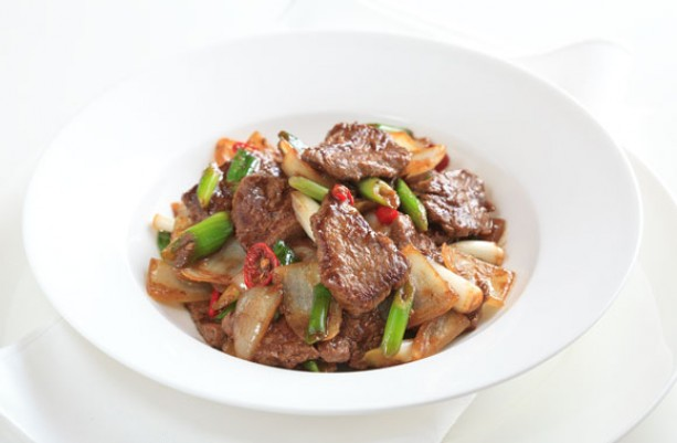 Stir-fry Beef with Cumin and Oyster Sauce