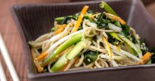 Easy Soba Noodle Salad with Wakame