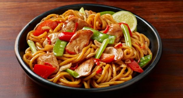 stir fry chicken soy noodles honey hokkien chilli sweet recipe chili fried chinese noodle sauce asian sour vegetables recipes spicy