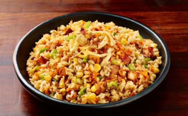 Honey and Soy Stir Fried Rice with Tofu