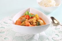 Vegetable Massaman Curry (Massaman Phak)
