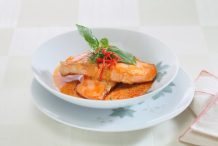 Fried Fish in Red Curry
