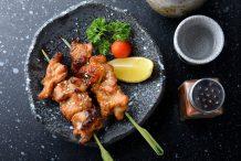 Grilled Chicken (Yakitori)
