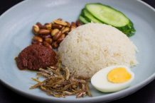 Nasi Lemak with Sweet Sambal