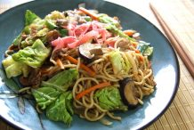 Japanese Fried Noodle (Yakisoba)