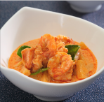Red Curry with Prawns and Pineapple