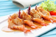 Grilled Prawns with Tamarind Sauce