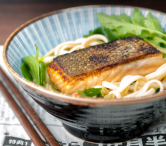 Salmon Teriyaki with Udon Noodle Salad