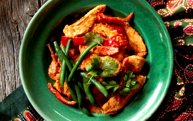 Malaysian Sambal Chicken Asian Inspirations