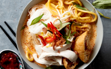 malaysian chicken curry laksa recipe by Asian Inspirations