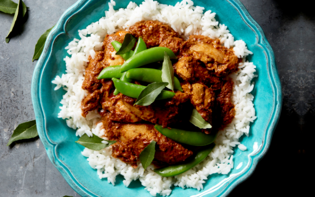 Malaysian White Curry Chicken