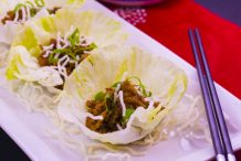 San Choy Bow with Rice Vermicelli