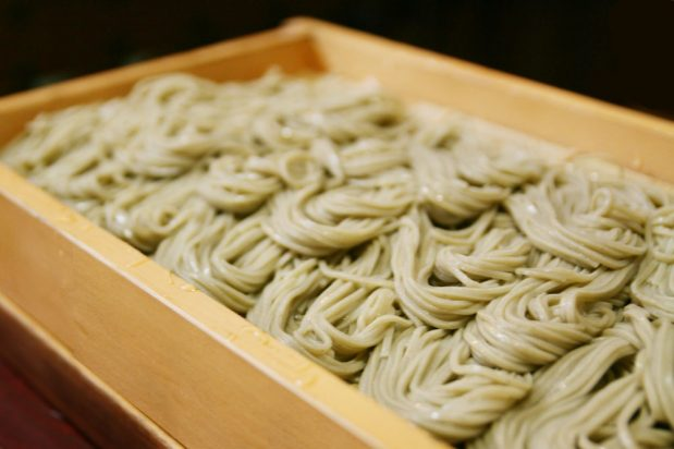 Hegi Soba with Mentsuyu Dipping Sauce