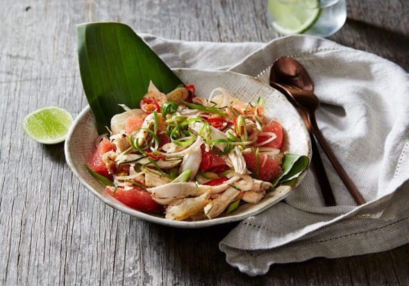 Poached Chicken Salad (Yum Som-O Gai Sheek)