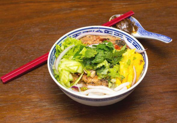 penang assam laksa recipe by Asian Inspirations