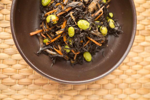 Hijiki Seaweed Salad (Hijiki no Nimono)