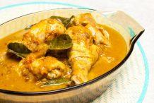 Chicken Red Curry with Pumpkin (Gaeng Phed Gai Sai Fak Tong)
