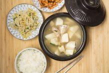 Korean Taro Soup (Toran Guk)