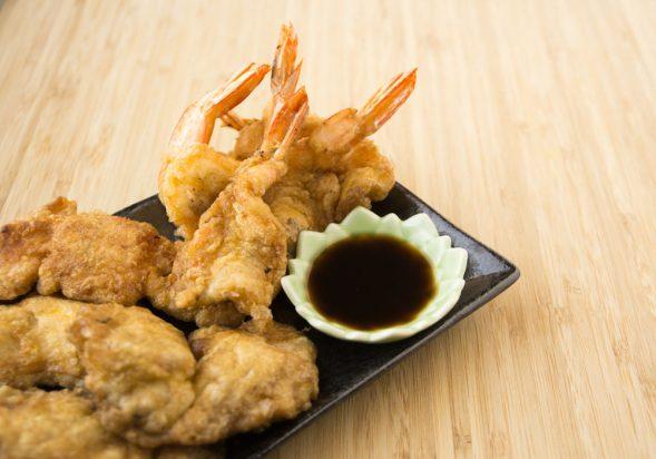 Shrimp & Cod Pancakes (Saewoo & Saengsun Jeon)