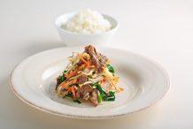 Ponzu Stir-fried Pork with Vegetables