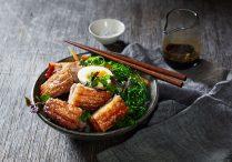 Crispy Pork Belly (Moo Krob Nam Ma Prow)