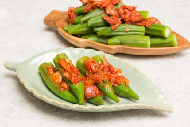 Sambal Ladies Fingers (Sambal Okra)