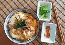 Japanese Chicken & Egg Rice Bowls (Oyakodon)