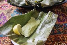 Indonesian Grilled Fish in Banana Leaves (Pepes Ikan)