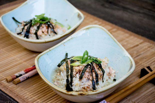 Japanese Green Tea Rice (Ochazuke)