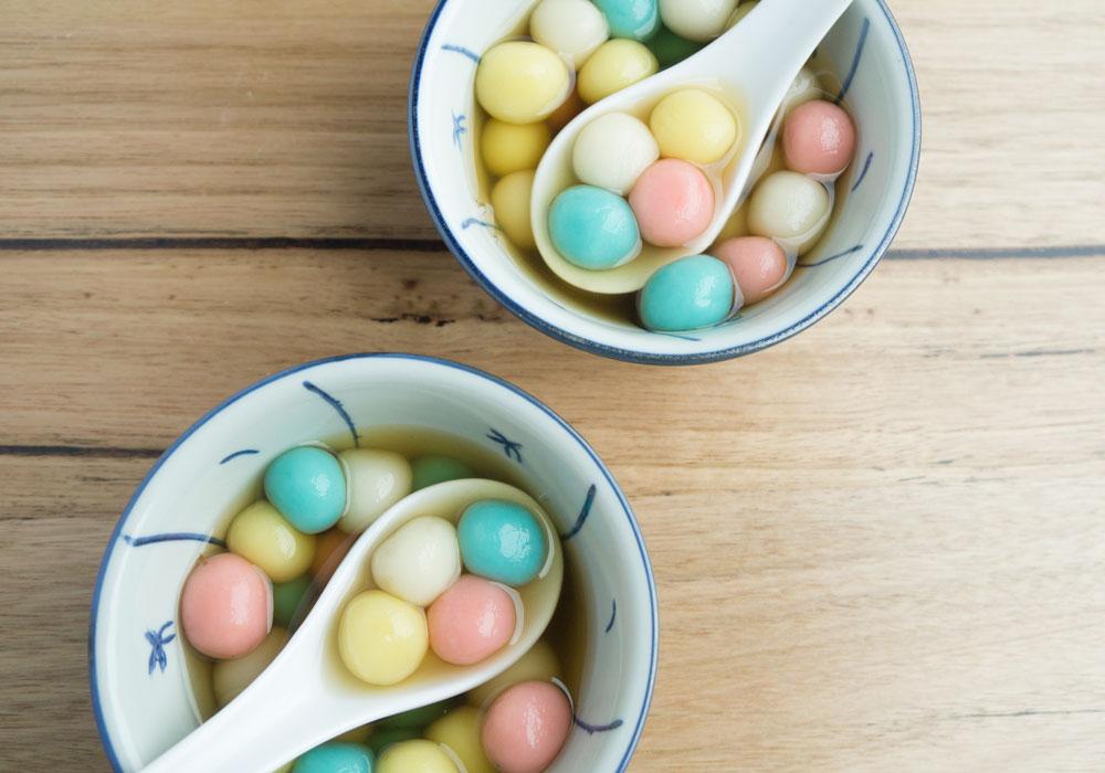 Glutinous Rice Balls in Ginger Soup (Tang Yuan)   Asian ...