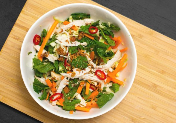 Vietnamese Chicken Salad (Goi Ga Bap Cai)