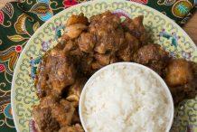 Nyonya Chicken with Potato Stew (Ayam Pongteh)