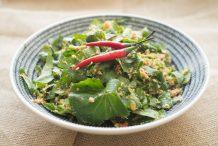 Centella Salad (Kerabu Pegaga)