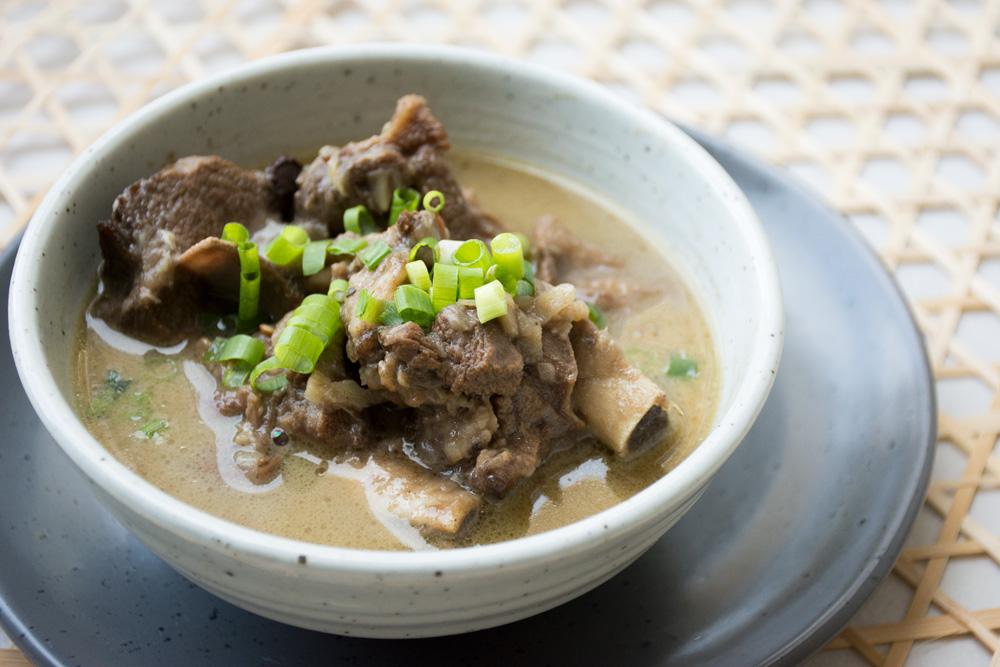 sup kambing khas malang