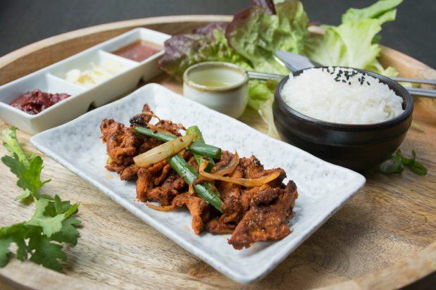 Korean Spicy Pork BBQ (Jeyuk Bokkeum)