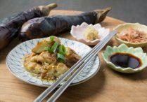 Grilled Japanese Eggplant (Yaki Nasu)
