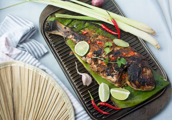 Crispy Skinned Thai Chilli Snapper
