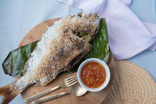 Thai Salt-Grilled Fish (Pla Pao)